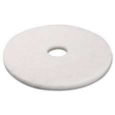 White Polishing Floor Pad