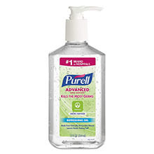 Green Certified Instant Hand Sanitizer Gel, 12 oz Pump Bottle