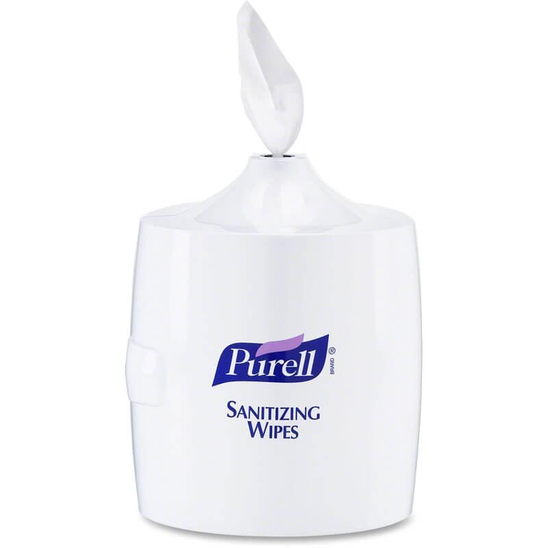 Purell Sanitizing Wipes Dispenser 1200 Capacity Unoclean