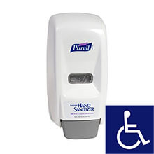 GOJO PURELL 800 Series Bag-in-Box Dispenser - White