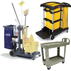 Housekeeping & Janitorial Carts
