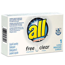 All Free Clear HE Liquid Laundry Detergent - Unscented - (100) 1.6 oz. VEN2979351