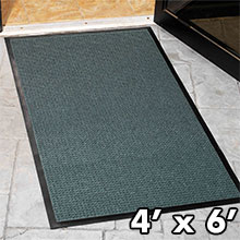 4' x 6' WaterGuard Heavy-Duty Entrance Floor Mat