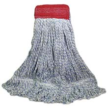Looped-End Floor Finish Mop Head, Large