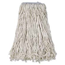 Cotton Mop Head Cut-End, White - 4-Ply, #32 Band