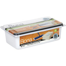 Bona Hardwood Floor Cleaning Wet Mop Pads