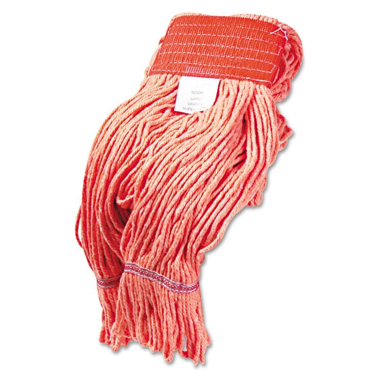 Super Loop Head Orange Yarn Large Unoclean