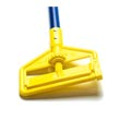"Rubbermaid [H146-BLU] Invader® Side Gate Wet Mop Handle - Plastic Yellow Head - 60"" Blue Fiberglass Handle"
