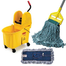 Mopping Supplies by Rubbermaid