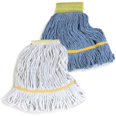 Mop Heads - Web Foot and Loop End