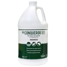 Bio Conqueror 105 Enzymatic Odor Counteractant Concentrate - Mango - 1 Gallon