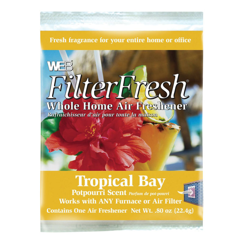Furnace Filter Tropical Bay Scented Air Freshener Pad