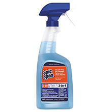 DISINFECTING ALL-PURPOSE SPRAY AND GLASS CLEANER, FRESH SCENT, 32 OZ SPRAY BOTTLE, 8/CARTON PGC58775CT