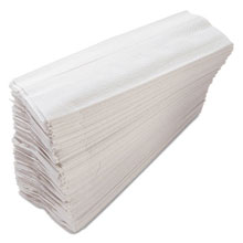 "C-Fold Paper Towels, White - 10"" x 12.25"" - (12) 200 Towels MORC122"