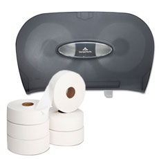 Jumbo Roll Bathroom Tissue & Dispensers