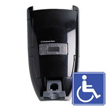 In-Sight Sanituff Manual Soap Dispenser - Black KCC92013