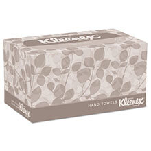 "Kleenex Hand Towels, Pop-Up Box - 9"" x 10.5"" - (18) 120 Towels KCC01701CT"