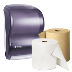 Roll Paper Towels & Dispensers