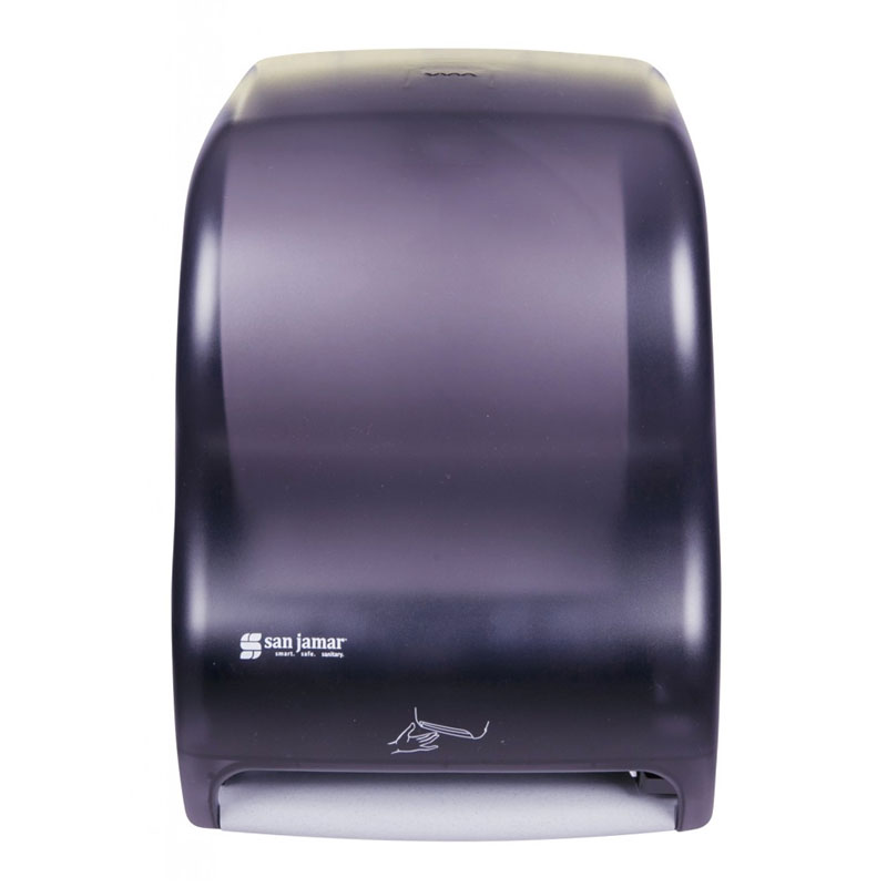 Bulk Toilet Paper >> Smart System Towel Dispenser, iQ Sensor, 11 3/4 x 9 x 15 1/2, Black Pearl - UnoClean