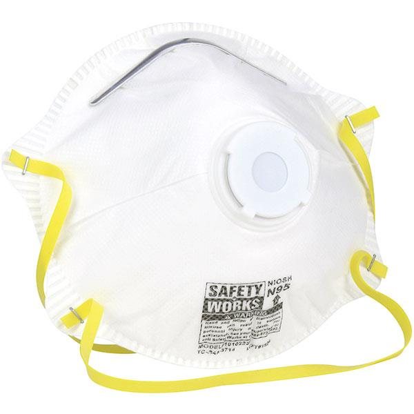 n95 valve face mask