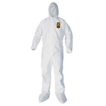 Kleenguard XP Coveralls - Zipper Front, Hood & Boots - 2X-Large