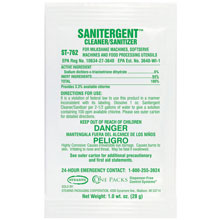 ST-762 Sanitergent Cleaner & Sanitizer - (50) 1 wt. oz. Packets
