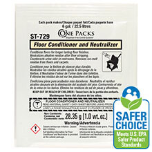 Stearns One Packs Floor Conditioner & Neutralizer - (72) 1 wt. oz. Packets