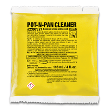 Stearns One Packs Pot 'N' Pan Cleaner - (100) 1.5 fl. oz. Packets