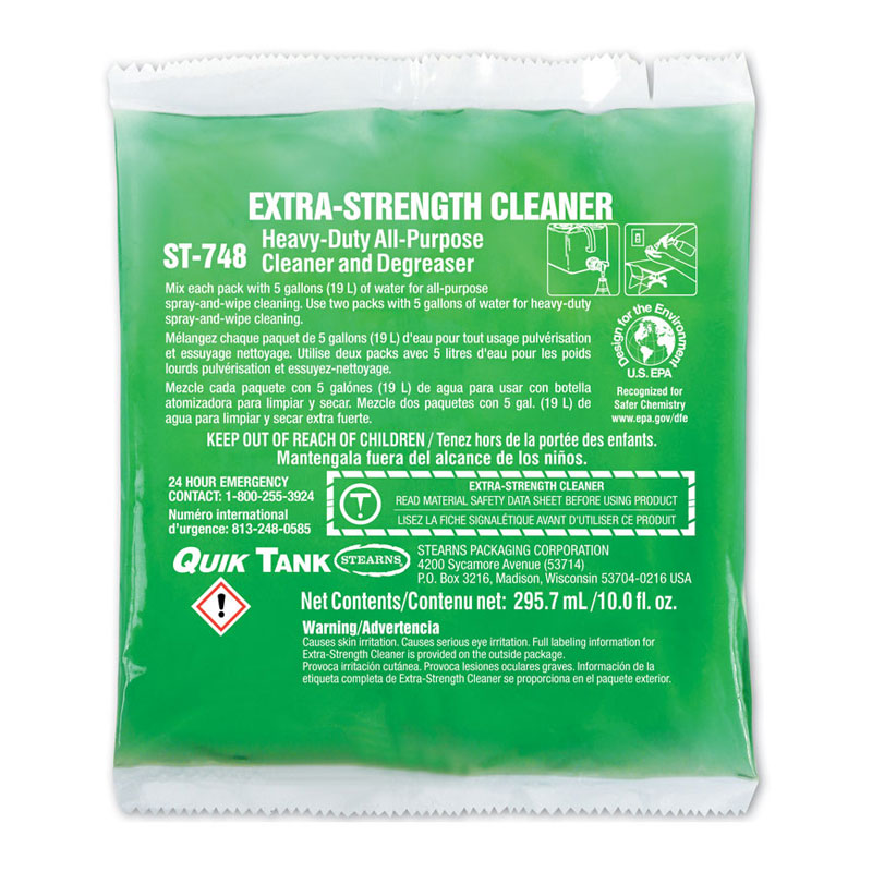 Stearns One Packs Extra-Strength Cleaner - (10) 10 fl. oz. Packets