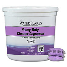 Stearns Water Flakes Heavy-Duty Cleaner Degreaser - (2) 36 x 1.5 wt. oz. Pails