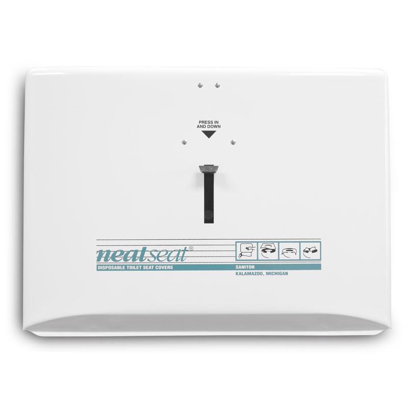 Neatseat Disposable Toilet Seat Cover Dispenser White