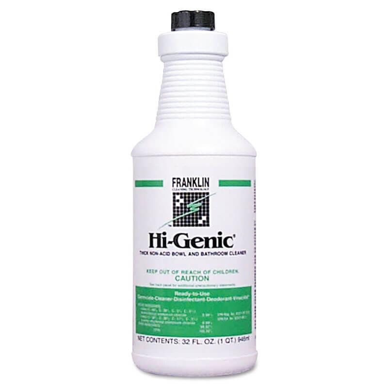 Hi-Genic Non-Acid Bowl & Bathroom Cleaner, 32 oz. Bottle ...