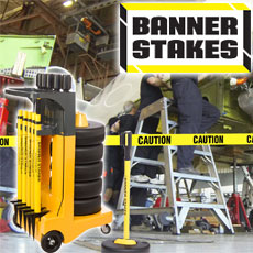Banner Stakes - Barrier System