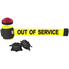 Banner Stakes MH5006L Out of Service Magnetic Barrier System