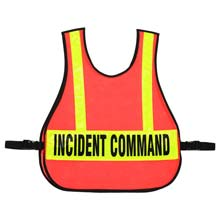 Command Safety Vest w/ Reflective Strips RF-003