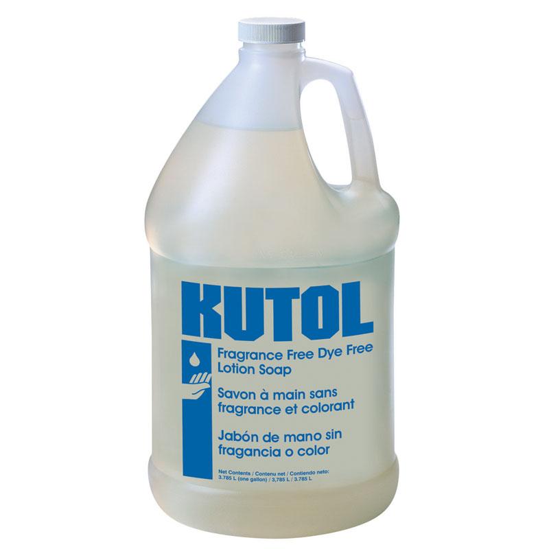 Kutol Fragrance Free Lotion Soap 1 Gallon Unoclean