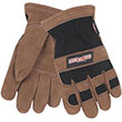 Men's Large Leahter Insulated Work Gloves