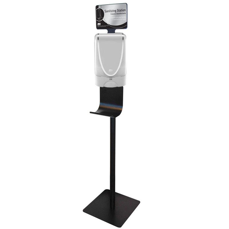 Hand Foam Stanitizing Station Kit White Dispenser Unoclean