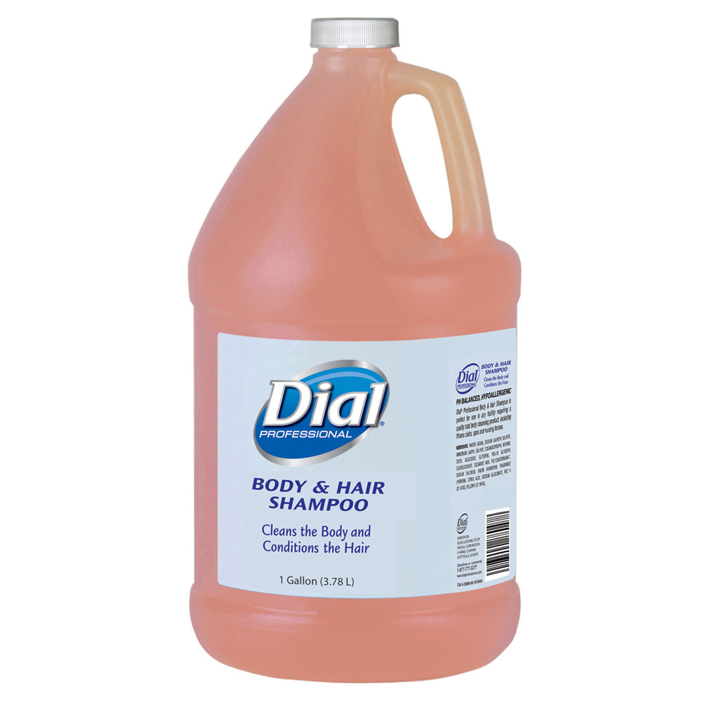 Dial 174 03986 Body Amp Hair Shampoo 4 1 Gallon Bottles