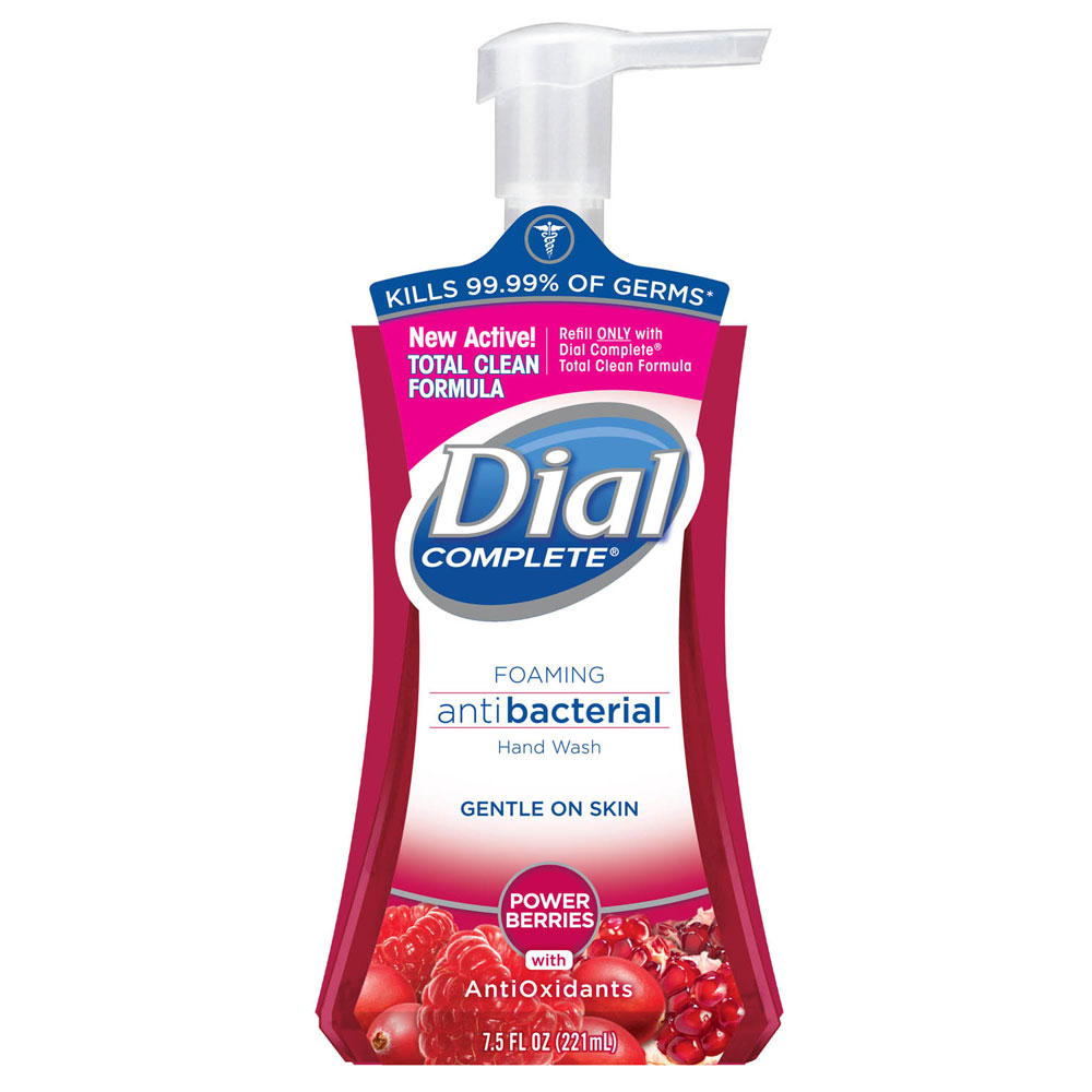 Dial 174 03016 Complete 174 Antibacterial Moisturizing Foaming