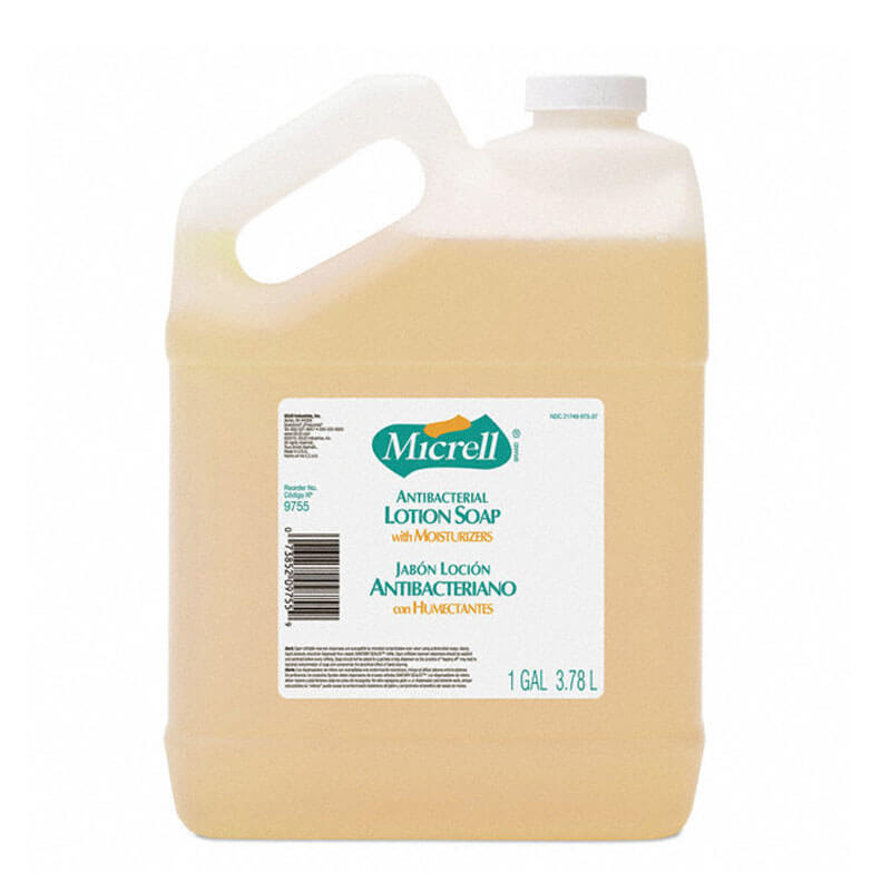 Micrell Antibacterial Lotion Soap 4 1 Gallon Bottles