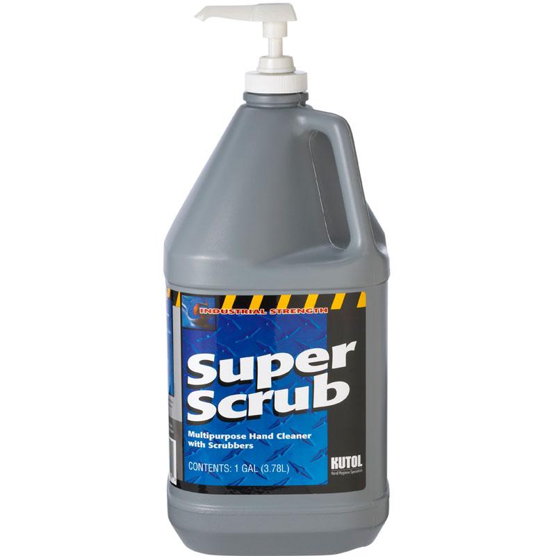Super Scrub Heavy Duty Hand Cleaner Pump Bottle 1 Gallon