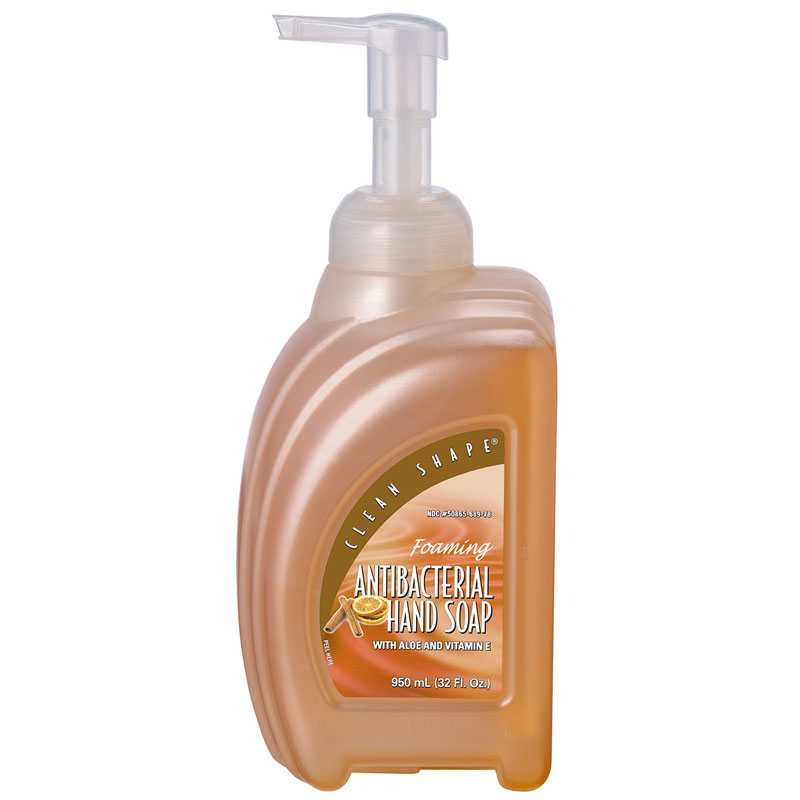 950 Ml Clean Shape Antibacterial Foaming Soap W Triclosan