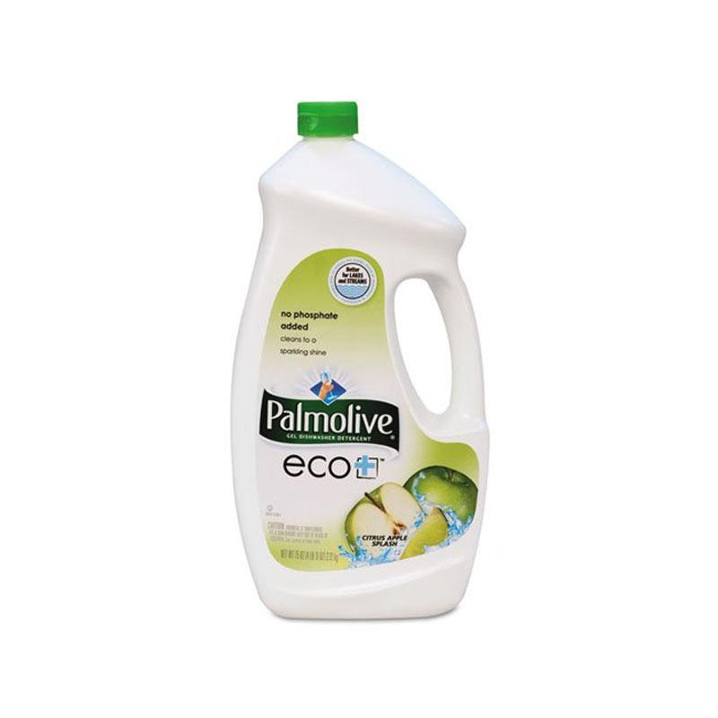 Eco+ Dishwashing Liquid, Citrus Apple Scent, 2.3 Qt