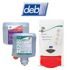 deb SBS Sanitizers & Dispensers
