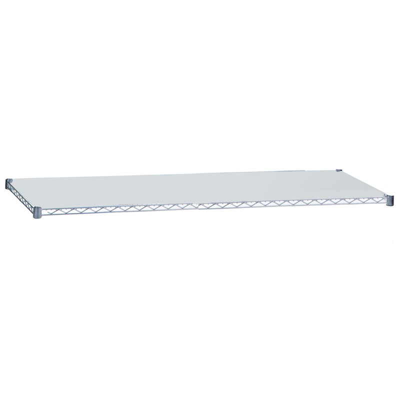 R&B Wire [SH1836SOL] Replacement Linen Rack Solid Shelf - Chrome - 18