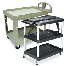 Service & Utility Carts by Rubbermaid