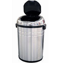 18 Gal. Round Automatic Trash Can HLS18RC