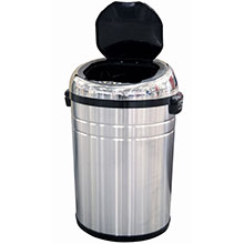 23 Gal. Round Automatic Trash Can HLS23RC