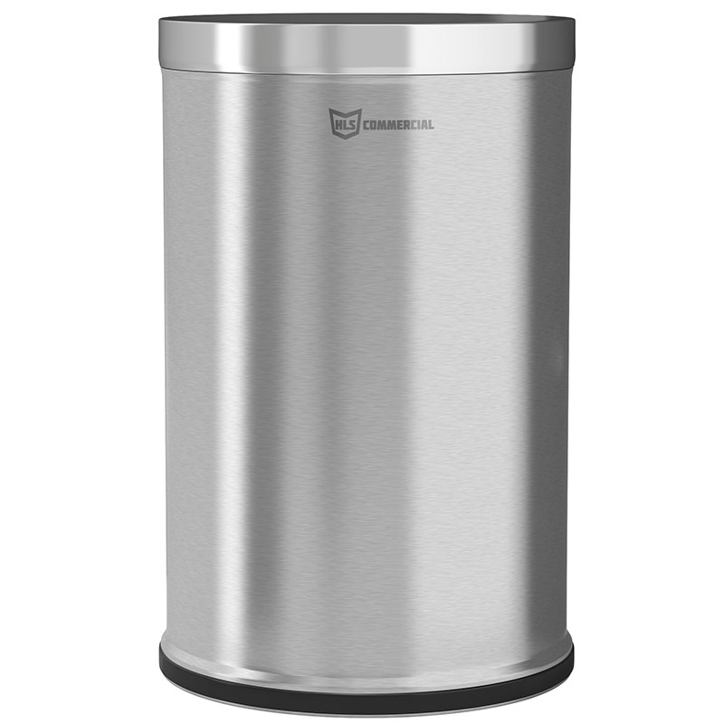 26 Gal. Open Top Trash Can w/ Steel Inner Liner HLSC05G26